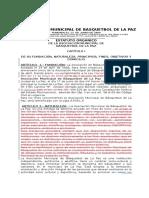 Estatutos AMBLP VALIDO PROYECTO