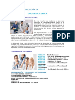 DIPLOMADO DE EDUCACIÓN EN PROGRAMA WEB