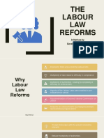 The Labour Law Reforms by Union Government