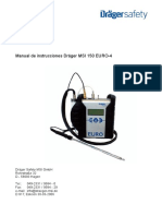 Manual MSI 150 EURO 4