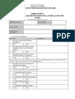 SJREB FORM 6 - Checklist of  Exemption.docx