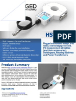 Hsens-h High Frequency Furrent Transformer