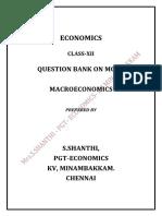 Edited MCQ- Macroeconomy