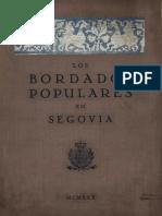 Bordado Tradicional Segoviano