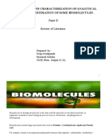 biomolecules ppt review