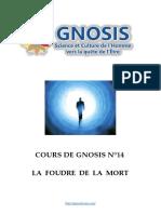 Cours de Gnosis - Leçon 14