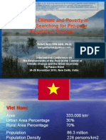 Changing Climate and Poverty in Vietnam