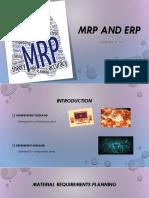 Operation Management-MRP & ERP