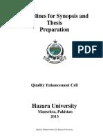 HU University Thesis Manual.pdf
