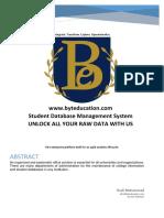 Data Managment Website