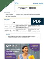 Sample Itinerary for Visa Application Australia.pdf