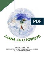 Proiect educativ Școala Altfel 2018-2019