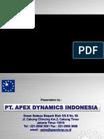 APEX DYNAMICS HIGH PRECISION RACK & PINION