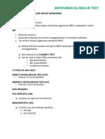 ANTIHUMAN GLOBULIN TEST.docx