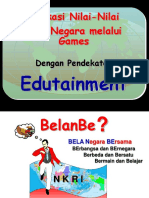 Pembinaan Kesadaran Bela Negara Melalui Kepemudaan dengan Pendekatan Edutainment - Dephan 2009 (2MB)