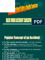BASIC WORK ACCIDENT CAUSATION THEORIES final