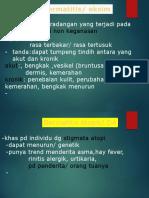 materi dermatitis utk ptpn