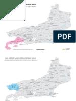 Mapa Plano Diretor de Turismo do Estado do Rio de Janeiro_Áreas de Desenvolvimento Estratégico_2001