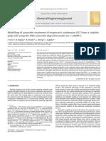 Modelling Anaerobic Treatment Evaporator Condensate