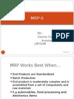 MRP II+ +Chapter+4