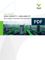 WP_ High Capacity + Availability_ Multi-Band is the right solution for 5G backhaul