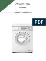 Lavadora AEG74800