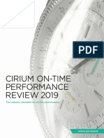 The Cirium On-Time Performance Review 2019