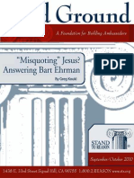 _Misquoting_ Jesus_ Answering B - Gregory Koukl.epub