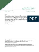 Surveillance and Foucault- Examining the Validity of Foucaults N