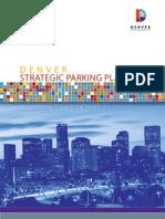 Denver's Strategic Parking Plan