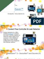 WeldSaver - Coolant Flow Controller Italy