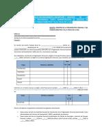 Modelo solicitud de reconocimiento OC y CD