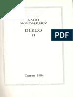 Laco Novomeský, Kompletné dielo, časť II.