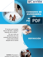CUIDADOS DE ENFERMERÍA EN PACIENTES POSTMORTEN