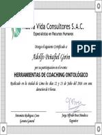 Certificado de seminario administra tu carrera