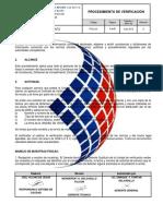 PTUV-01 Procedimiento de Verificación Rev 06