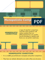 3.0 Applied - MONOPOLISTIC COMPETITION