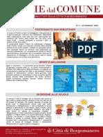 Notizie Dal Comune di Borgomanero del 24-01-2020