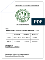 Computer Networks (LAB) Project Report