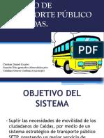 SERVICIO DE TRANSPORTE PÚBLICO DE CALDAS.pptx