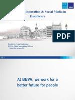 Beatriz Lara keynote BBVA Healthcare @ #Ideagoras conference 18.11.10