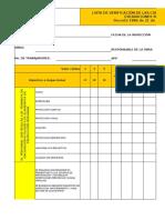 Check list condiciones de seguridad  para excavaciones  subterranea dec. 1886 de 2015.xlsx
