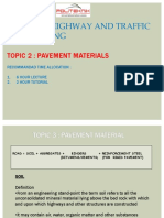 TOPIC 2-PAVEMENT MATERIAL