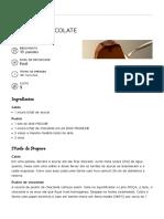 Pudim de Chocolate - Pudins - Leite Moça