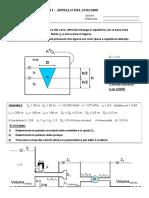 Temi d'esame 2008-2013 risolti meccanica dei fluidi