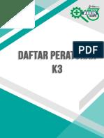 BUKU DAFTAR PERATURAN K3