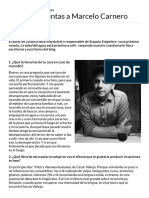 Eterna Cadencia - Nueve preguntas a Marcelo Carnero