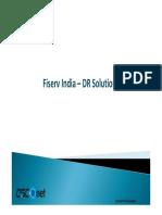 DR-SRM+NSX Fiserv