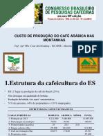 CUSTO DE PRODUÇÃO NA CAFEICULTURA DE MONTANHAS