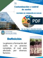 Factores de formación de suelos